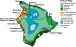 Big Island climate zones