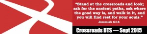 Crossroads Bookmark Single